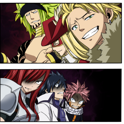 fairy tail  july 2012