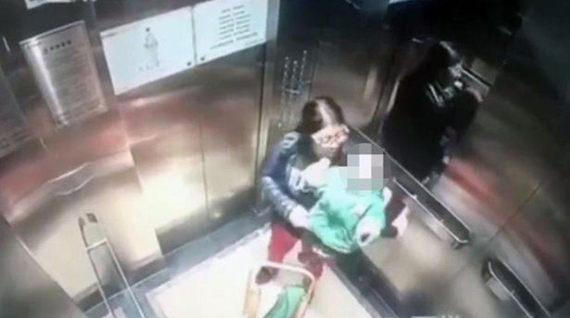 Βίντεο-σοκ: Babysitter χτυπά με γροθιές μωρό μέσα σε ασανσέρ
