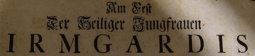 St. Irmgard von Süchteln