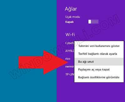 Windows 8 Ağlar