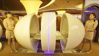 Restoran Unik Berkonsepkan Pesawat A380