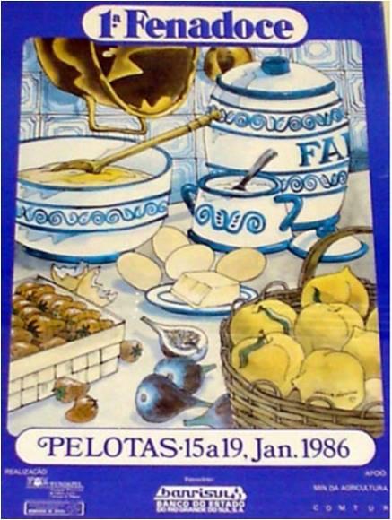 1° FENADOCE  1986 -  LEIA SOBRE