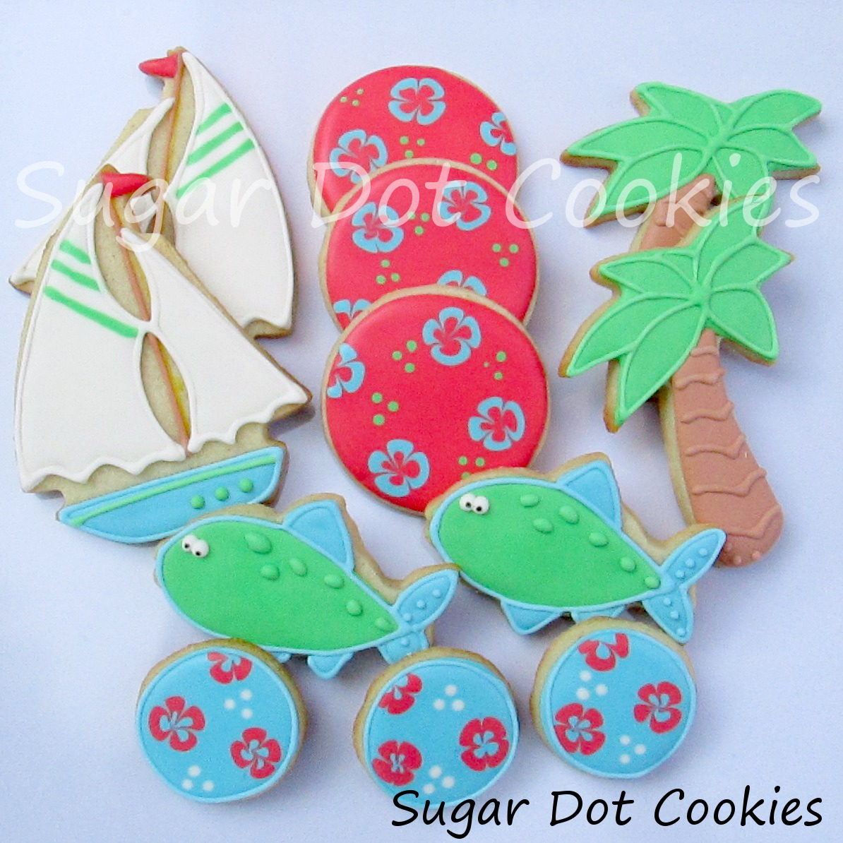 1194 x 1194 · 301 kB · jpeg, Sailboat Sugar Cookies with Royal Icing ...