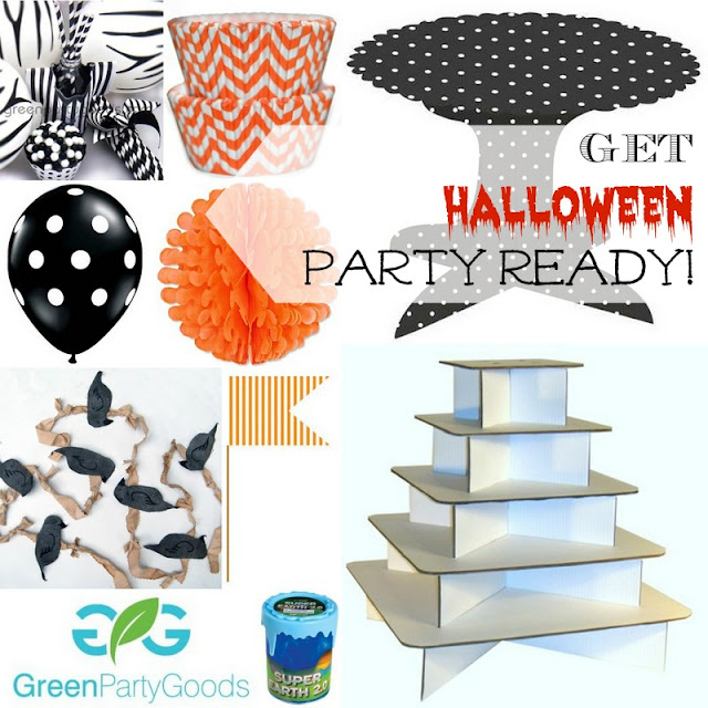 Green Party Goods Halloween party supplies