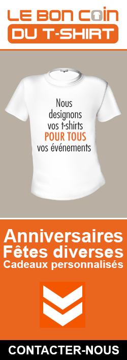 Nous designons vos t-shirts !