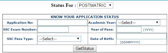 E-Pass Scholarship Application Status Check Online at epass.cgg.gov.in