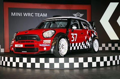 Mini Countryman WRC 2011 (Launch) Front Side