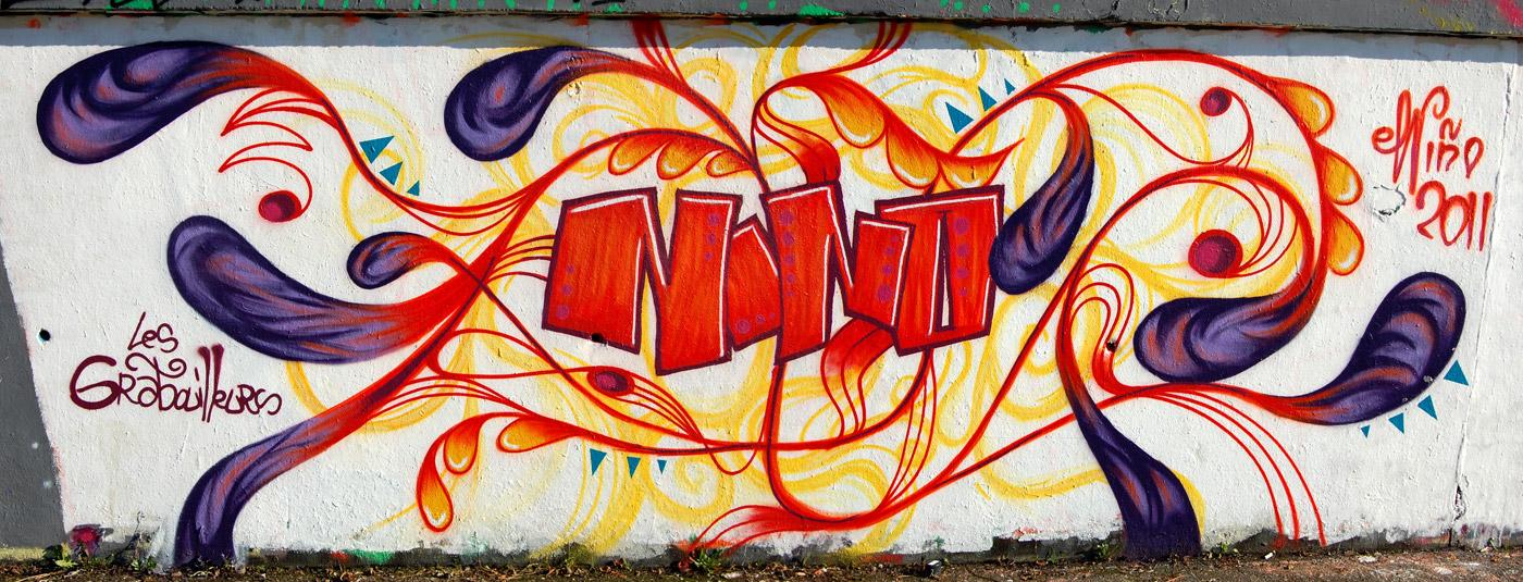 Blog ferm maintenant graffiti nantes for Graffitis para ninos