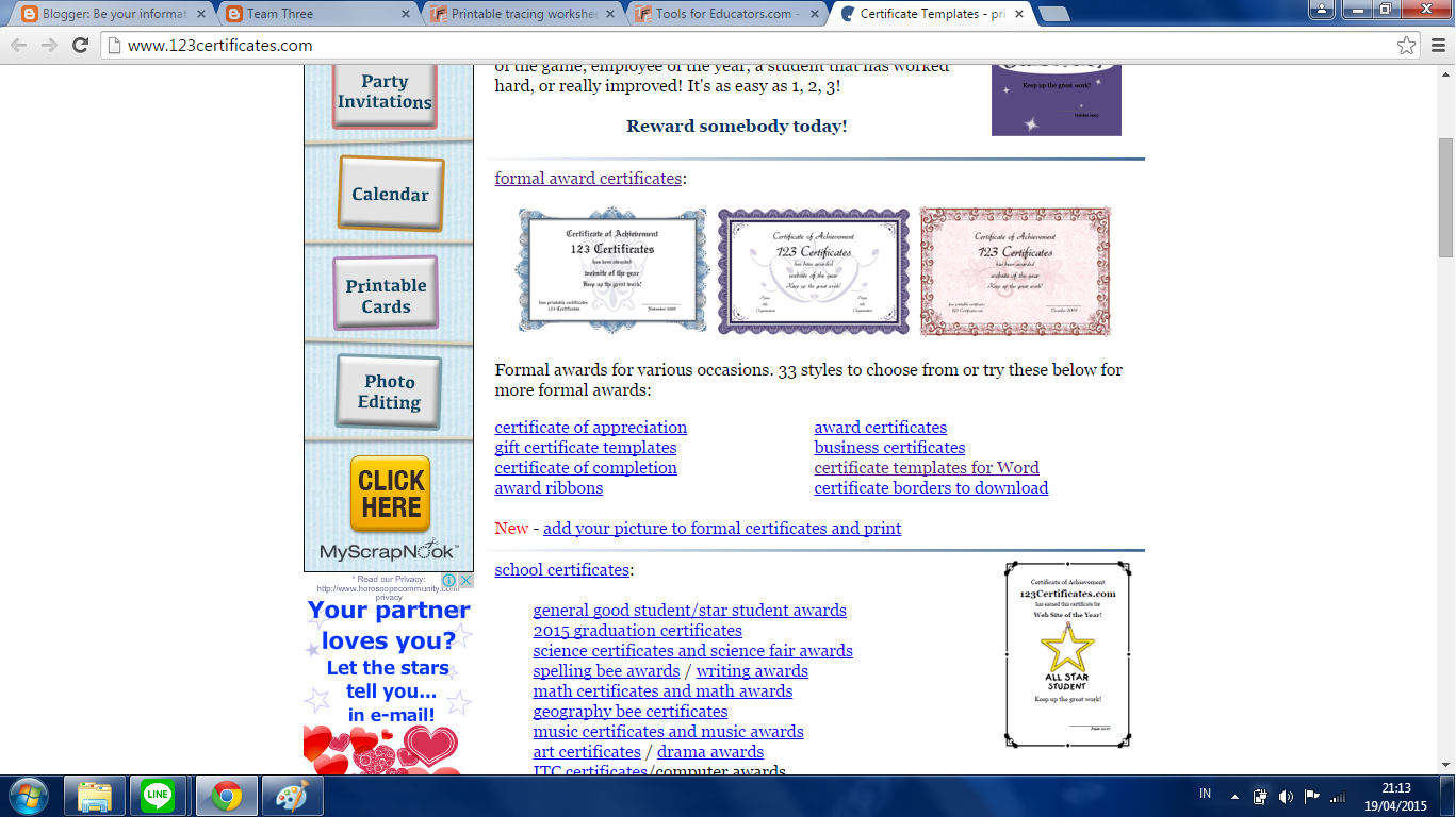 Business Certificate Templates For Word