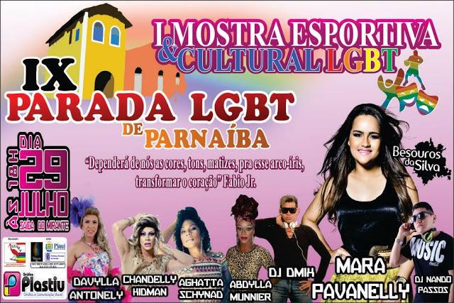 IX PARADA LGBT DE PARNAIBA