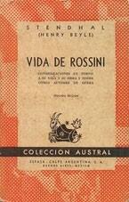 """Vida de Rossini"" -Stendhal"