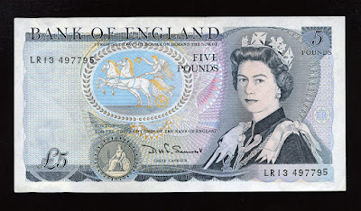 dating england banknotes