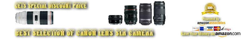 Canon lens Discount