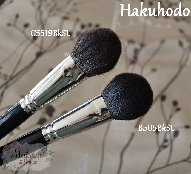 Hakuhodo Brush Collection Review Haul