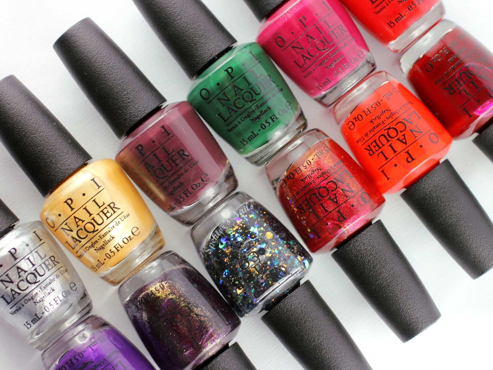 OPI - Gwen Stefani Holiday 2014 Collection
