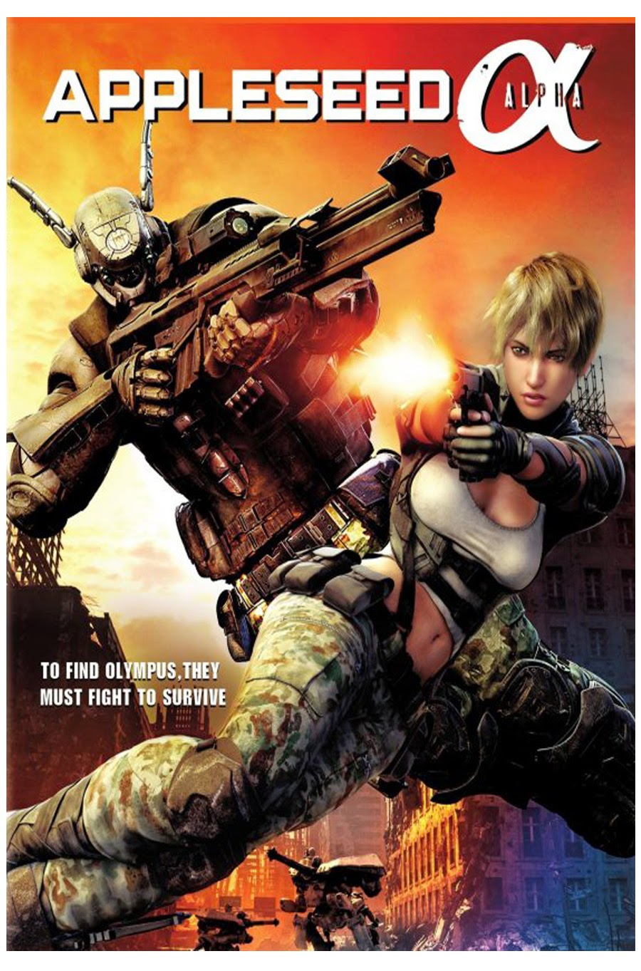Regarder Appleseed Alpha en streaming