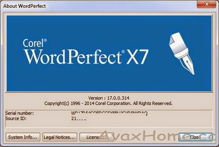 wordperfect office 11 service pack 1