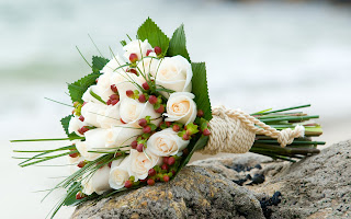 Bouquet White Roses HD Love Wallpaper