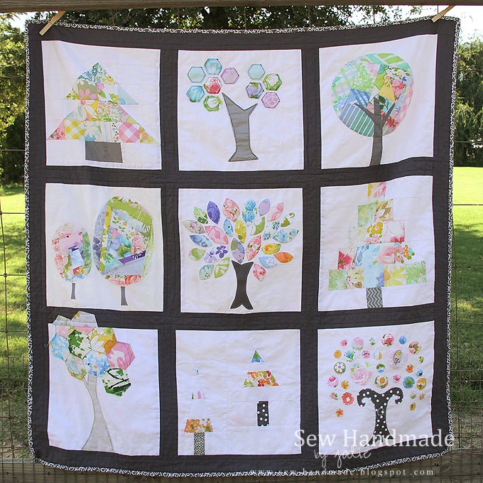tree quilt quilting bee