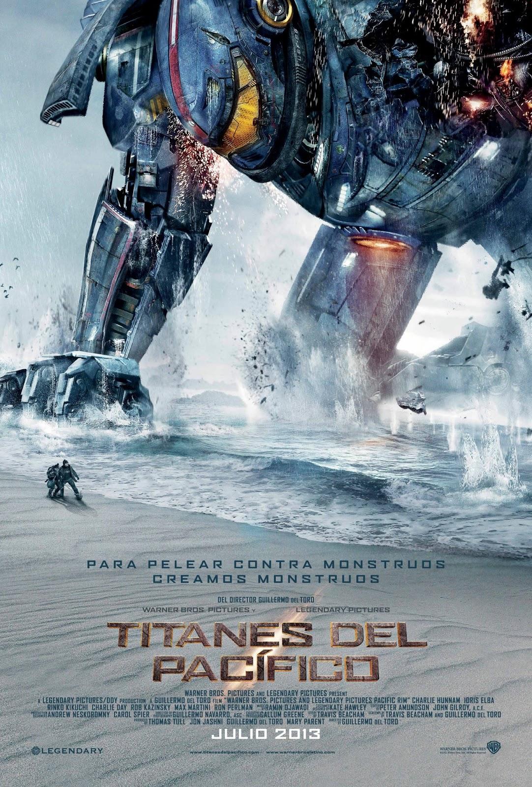Titanes del pacifico lo nuevo de Guillermo Del Toro