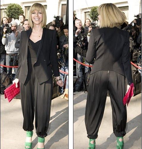 Oh Dear Kate Garraway Reveals Her Pale Underwear