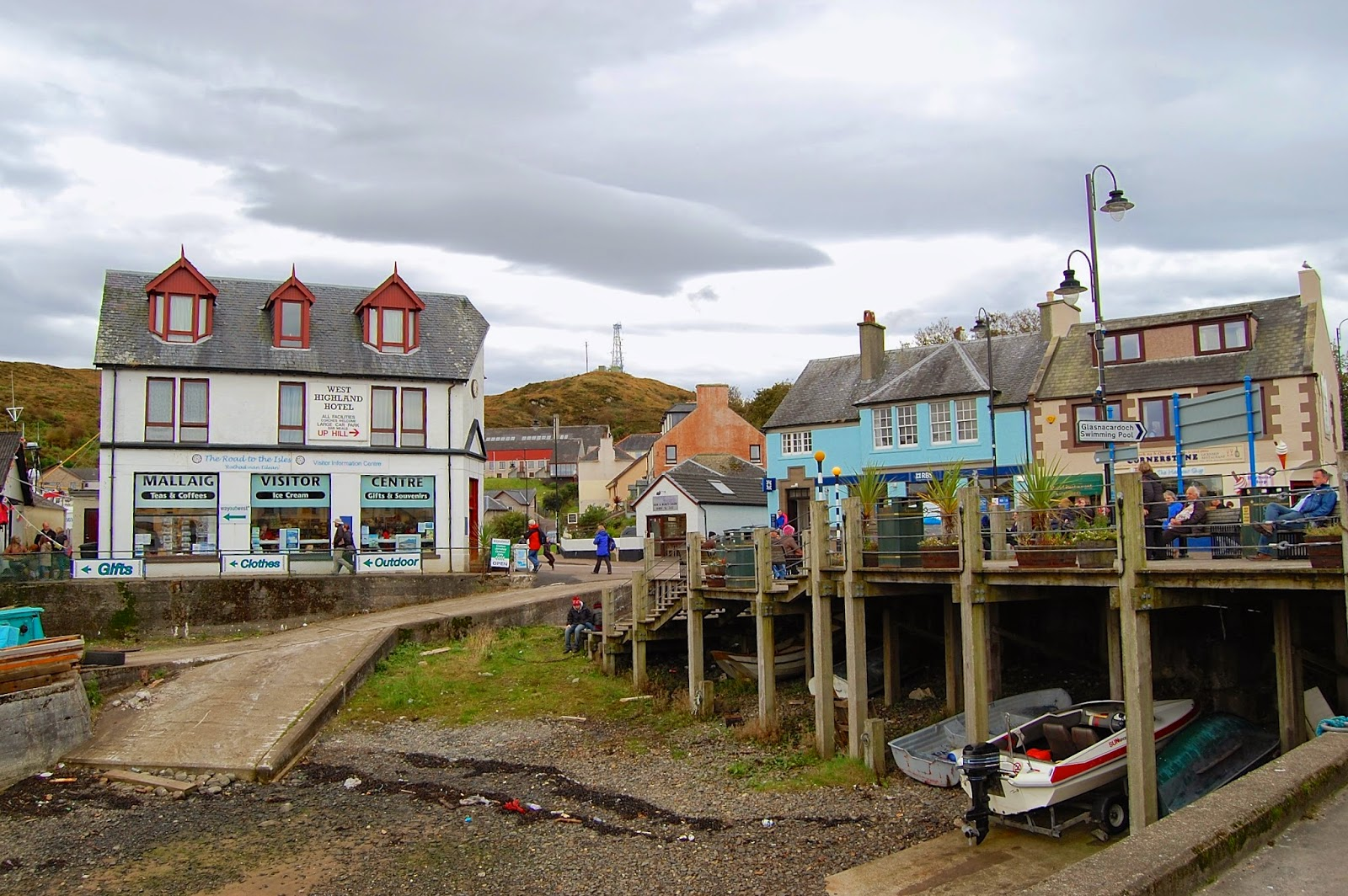 Shops in Mallaig