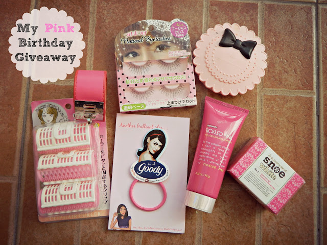 Laces and Tiara's Pink Birthday Giveaway