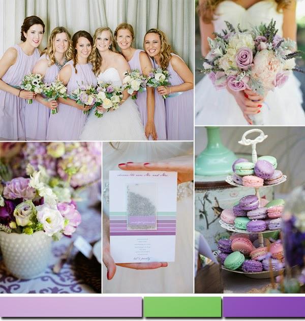 цветовете на 2015 за сватби