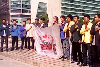 Memprihatinkan, Demo 20 Mei Cuma 20 Mahasiswa