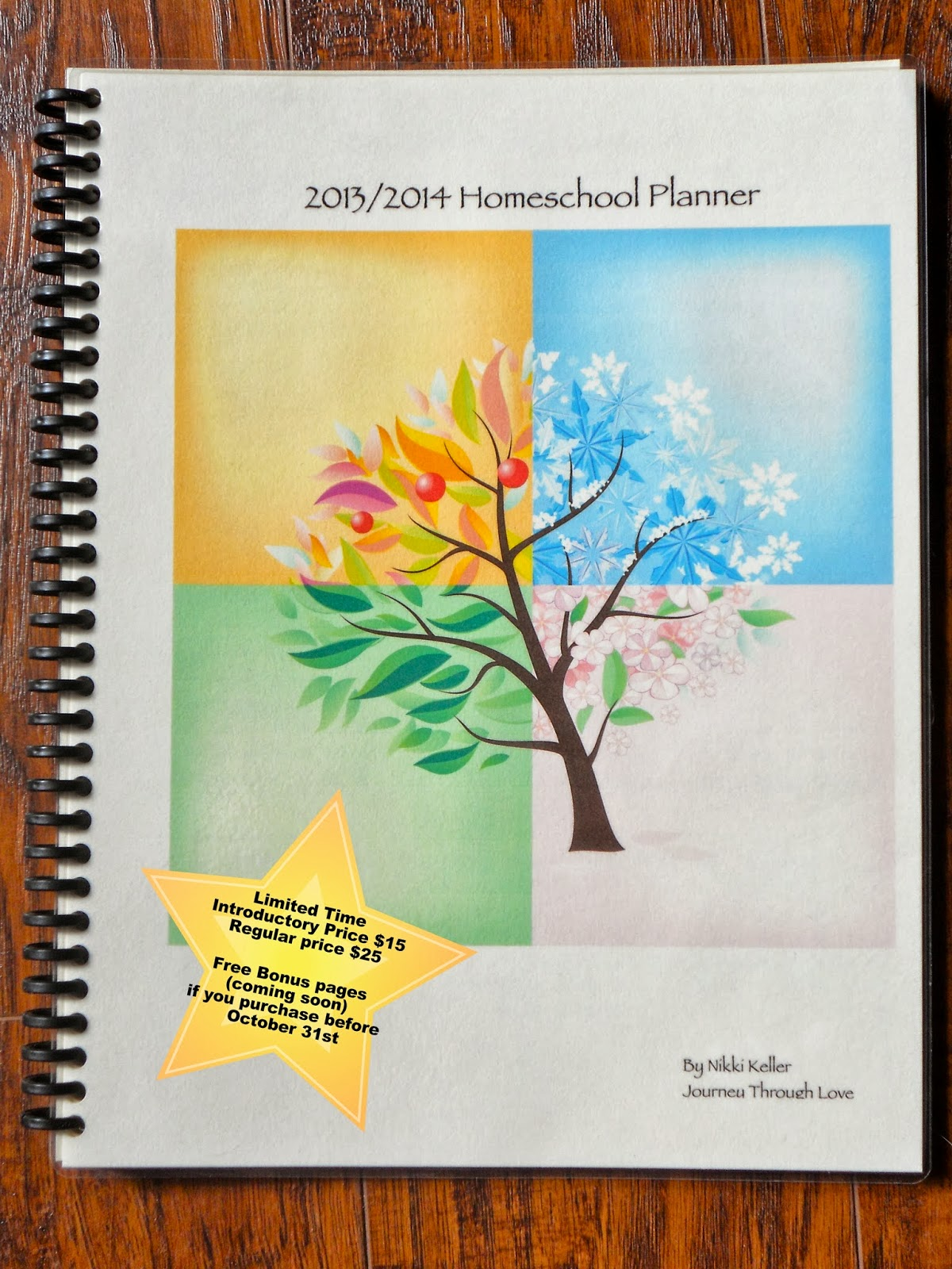 Journey through love 2013 2014 waldorf homeschool planner for Waldorf at home