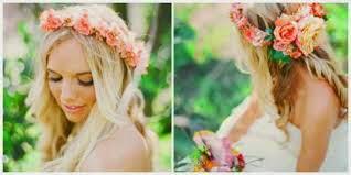 decorar con flores naturales en forma de corona de flores