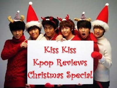 2PM members Christmas