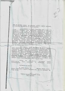 A Juíza Gláucia Zuccari ordenou que a Estatal Emgepron cumpra a Sentença Judicial de 2009.