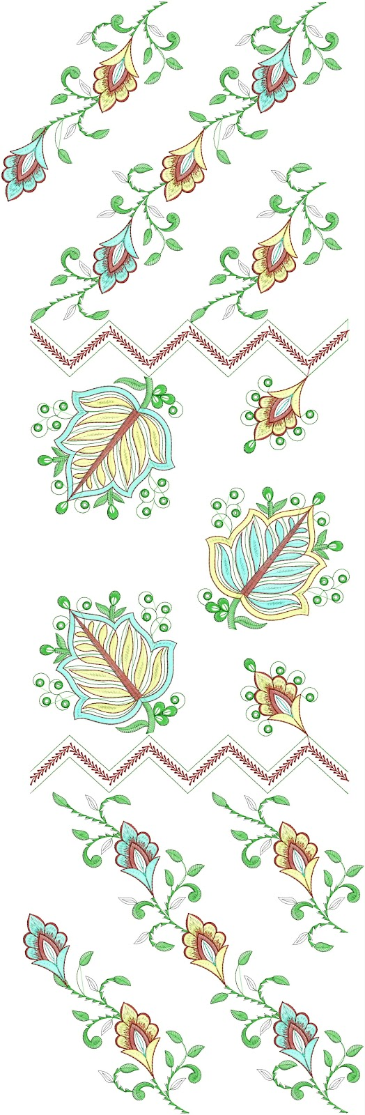 Embdesigntube all over clothing embroidery designs