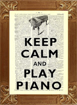 Keep playing the piano...