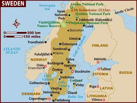 Where is Sweden?