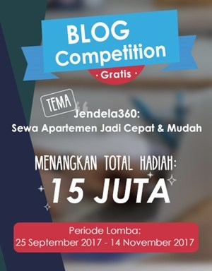Blog Competition Jendela360