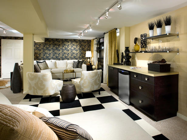 Modern furniture basements decorating ideas 2012 by candice olson - Basement makeover ideas ...