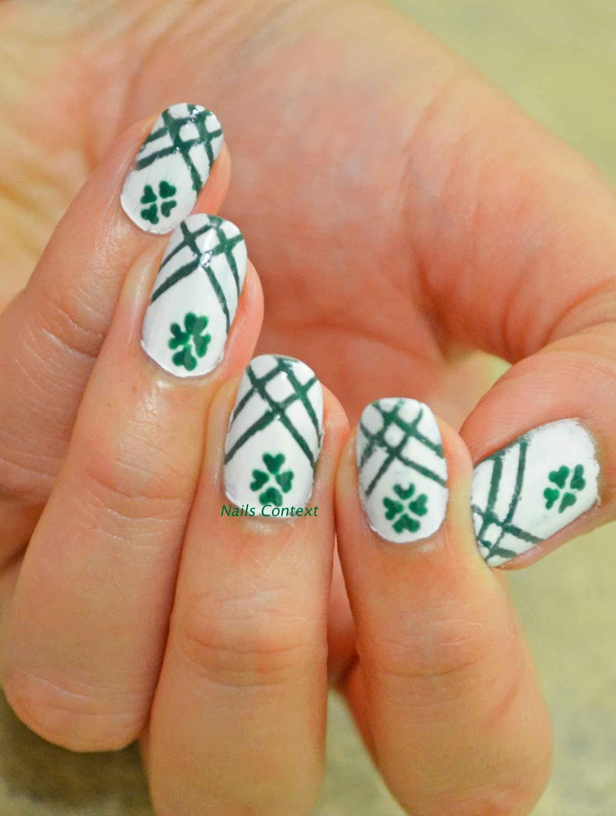 Nails Context: Festival Nailart: St. Patrick\'s Day 2014
