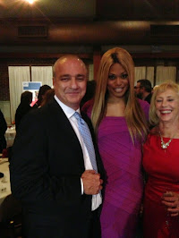 Jeff With Laverne Cox, Orange is the New Black, Oct., '13