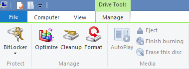 How to Manage Drives Using Drive Tools