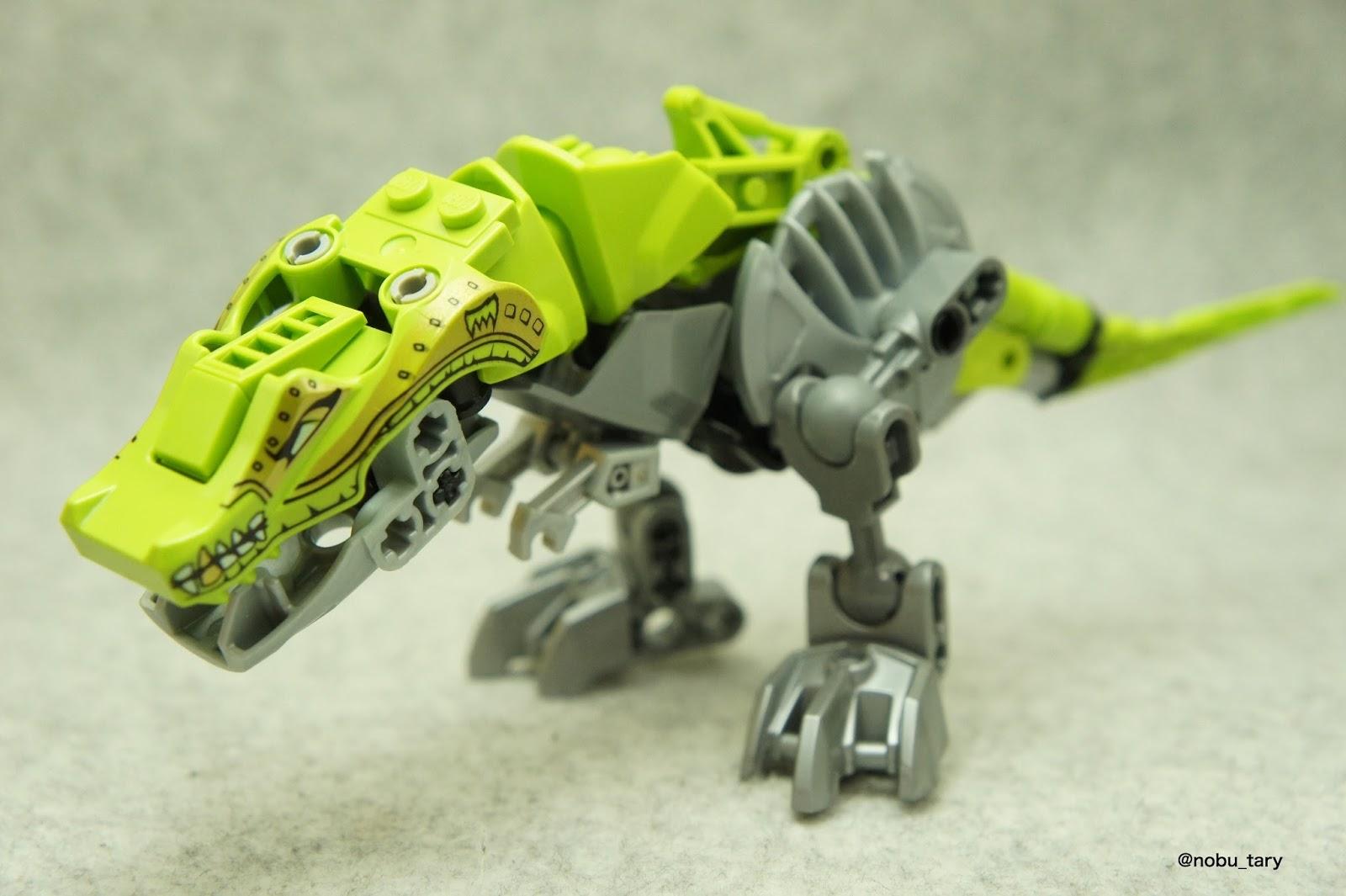 The brick bucket angry dino - Lego dinosaures ...