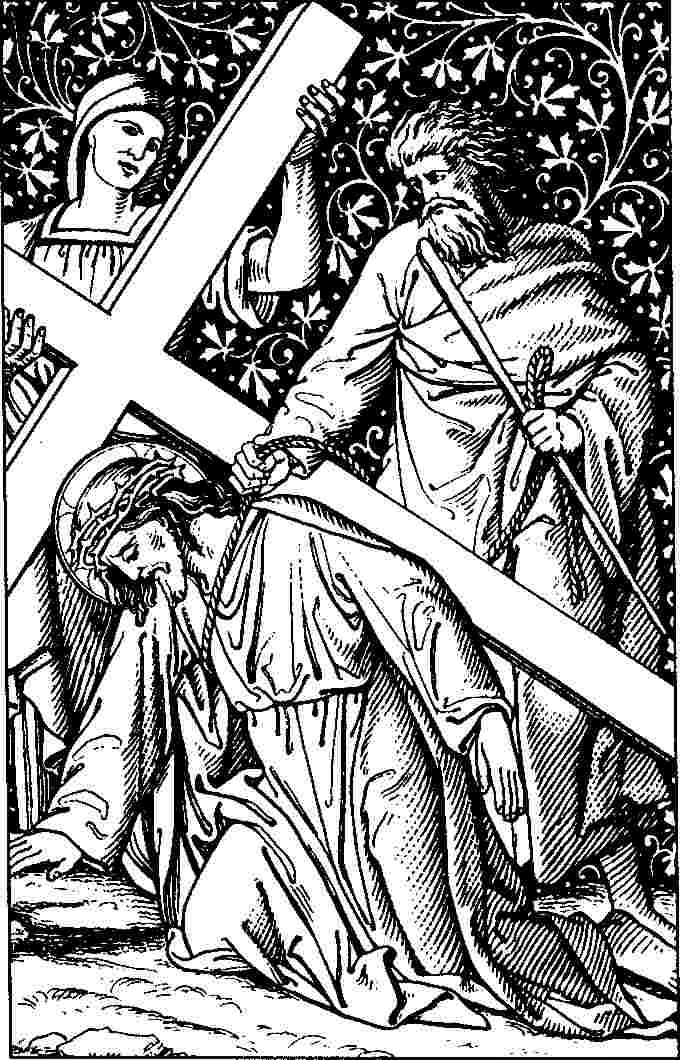 Line Drawing Jesus : Another anglican line drawings stations of the cross