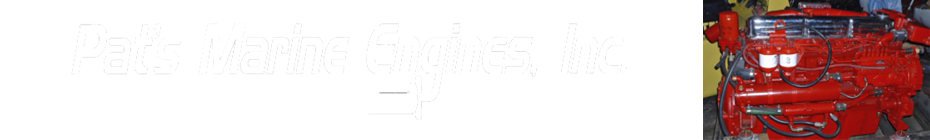 Pat's Marine Engines