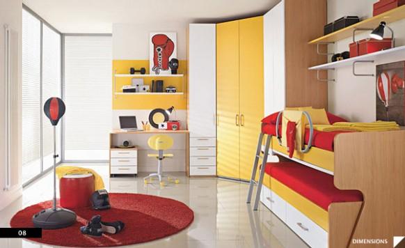 20 bellos dise os de habitaciones infantiles bonitadecoraci - Disenos de habitaciones infantiles ...