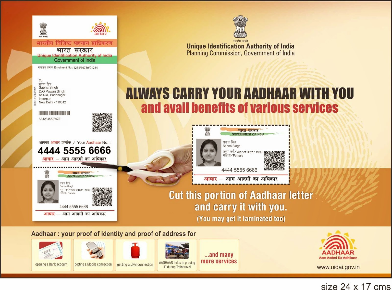 How To Apply For Aadhar Card Aadhar Ration Pan Amp Voter