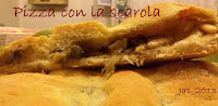 La pizza con la scarola