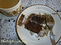 recipe eggless chocolate cake, coffeecream filling, ganache