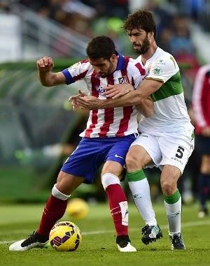 Atletico Madrid Menang Atas Elche 0-2