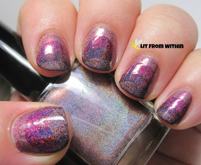 Fashion style A phobe manicure lusts over ruffian nails for lady